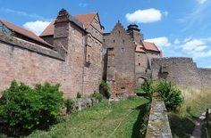 Vorburg und Hauptburg Burg Breuberg