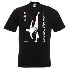 Taekwondo Taekwondo Art 1 BLACK T-Shirt