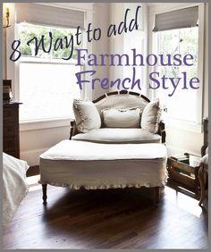 8 Budget-friendly Ways to add Farmhouse French to Your House - Cedar Hill Farmhouse