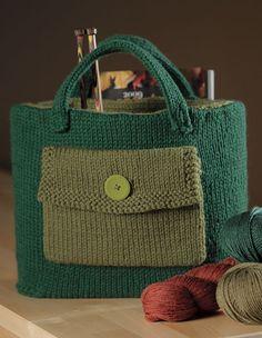 Knitter's Tool Bag Pattern - Knitting Patterns and Crochet Patterns from KnitPicks.com