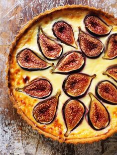 Croatian Fresh Fig Tart - Dessert from the coastal region of Dalmatia, Rick Stein has recreated classic dishes from Venice to Istanbul for his brilliant new book and TV show Fig Recipes, Tart Recipes, Sweet Recipes, Dessert Recipes, Cooking Recipes, Sweet Pie, Sweet Tarts, Goodies, Health Desserts