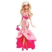BARBIE® FASHIONISTAS® Gown Doll (Pink Mermaid With Ruffles) - Shop.Mattel.com