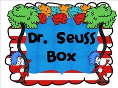 A cute label to put on your Dr. Library Labels, Green Eggs And Ham, The Lorax, Author Studies, Classroom Setting, Dr Suess, Fun Ideas, School Stuff, Preschool
