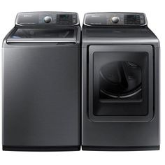 Samsung 5.2 cu. ft. High-Efficiency Top Load Washer with Activewash in Platinum, ENERGY STAR - WA52J8700AP - The Home Depot