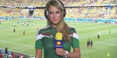 Vanessa Huppenkothen, Jurnalis Cantik Meksiko di Brasil