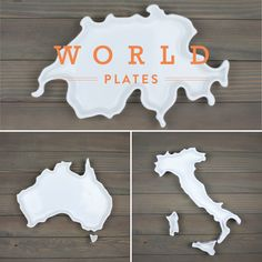 World Plates are now available in our shop! Because the journey never ends, our porcelain trays celebrate the lands you love, near and far.  Bake, serve, and style.  #corbeco