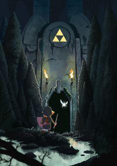 Cool The Legend of Zelda art...