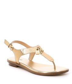 34cf9d75849 MICHAEL Michael Kors Suki Thong Sandals  Dillards Flat Sandals
