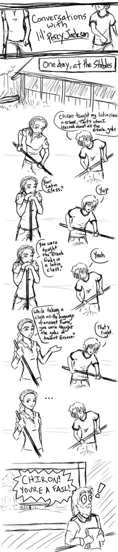 Conversations with Percy Jackson