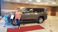 Congratulations to Shannon P. on the purchase of your new 2017 #Lexus #GX from Lexus of Orange Park! #Lexus