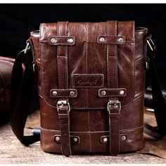 Online shopping for Leather and Suede with free worldwide shipping - Page 3 Leather Backpack, Online Shopping, Satchel, Bags, Men, Handbags, Leather Book Bag, Leather Backpacks, Taschen