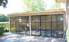 Afbeeldingsresultaat voor veranda glas en staal