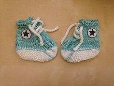 Converse Booties pattern by hillsmel