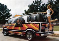 Vintage 70s Conversion Vans