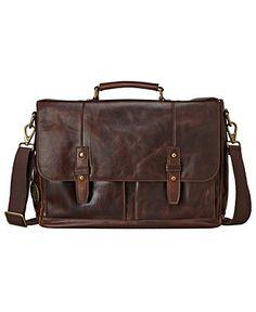 Fossil Bags, Dillon E/W Messenger - Mens Belts, Wallets & Accessories - Macy's