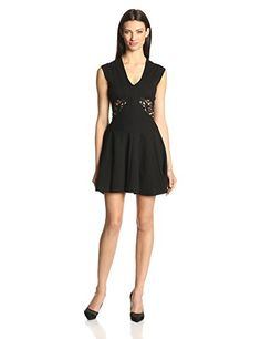 French Connection Women's Marie Stretch Embroidery Fit and Flare Dress, Black, 2 French Connection http://www.amazon.com/dp/B00IXJMH2Y/ref=cm_sw_r_pi_dp_xcABub0ACVCA0
