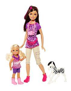 Barbie Sisters Safari Fun Skipper and Chelsea Doll 2-Pack Barbie http://www.amazon.com/dp/B00EVX17KY/ref=cm_sw_r_pi_dp_nxtrub04RX6KX
