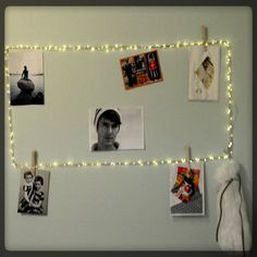 Made a unique frame for a girl's bedroom with lights from Onesteptimers.  The battery pack is in the hanging bag.