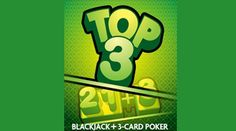 Share this with your friends and earn B Connected Social Points to enter valuable prize giveaways. 21+3/TOP 3 is an exciting new betting combination available for Blackjack.    The 21+3 sidebet allows you to get paid when you make a Three Card Poker hand using your first two cards and the dealer's up card.    The second sidebet pays you even more when those three cards make a specific Three Card Poker hand.