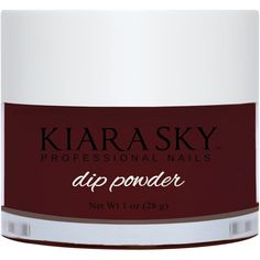 Kiara Sky Dip Powder - Riyalistic Maroon - New Ideas Haute Chocolate, Dip Nail Colors, Dip Manicure, Cute Short Nails, Nail Polish Stickers, Maroon Nails, Christmas Manicure, What Is Christmas, Dipped Nails