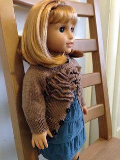 ruffle sweater knitting pattern