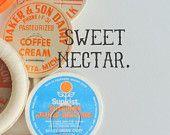 vintage milk caps - for cupcakes?