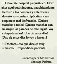 ¿¿¿Doctora??? Strong Quotes, True Quotes, Book Quotes, Short Horror Stories, Creepy Stories, Trauma, Silent Horror, Something Scary, Scary Tales