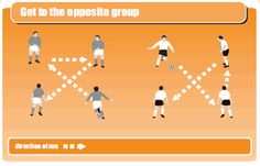 Soccer coaching warm-up drill to get players moving Soccer Practice Drills, Football Coaching Drills, Soccer Training Drills, Soccer Workouts, Youth Soccer, Kids Soccer, Football Soccer, Soccer Stuff, Soccer Skills For Kids