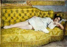 La lettura, Francesco de Nicola (1882-1961)