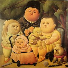 la Familia Pinzon by F. Botero by Escape into Life, via Flickr