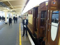Orient Express British Pullman at London Victoria Station. For more read: http://www.tipsfortravellers.com/2012/10/orient-express-british-pullman-train-the-golden-age-of-travel-trip.html