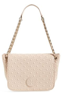 Tory Burch 'Small Marion' Quilted Shoulder Bag available at #Nordstrom