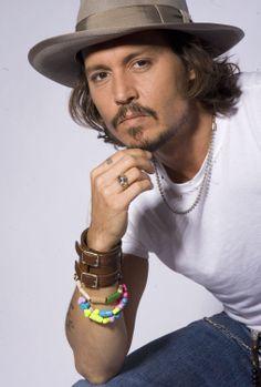 Johnny Depp AKA Jack Sparrow and Hollywood Vampires member Barba Van Dyke, Kentucky, Johnny Depp Pictures, Soul Patch, Donnie Brasco, Here's Johnny, Estilo Rock, The Lone Ranger, Mtv Movie Awards