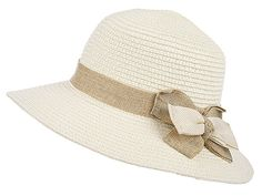 83dc02a75e2 Kaisifei Womens Beach Braid Straw hat (navy blue) at Amazon Women s  Clothing store