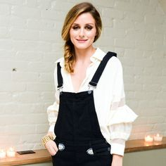 Olivia Palermo at the launch dinner for her collaboration with Westward Leaning