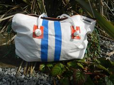Up-cycled marine sails bags