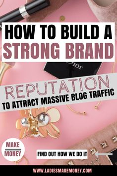 In order to build a reputable brand that attract massive readers in order to increase your blog traffic. Learn how to work with brands and land sponsored blog posts. Use your brand identity to attract readers and increase your following. We will show you exactly how to build a strong brand reputation to attract massive blog traffic in order to make money online. Make money online with our creative tips. #workingwithbrands #brandreputation #socialmediatips #brands