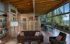 EAGLE HARBOR on Lake Superior, MI by Finne Architects.