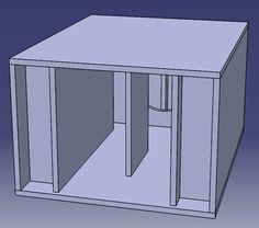 Martinsson's Blog - ROAR12 Subwoofer Box Design, Speaker Box Design, Tap System, Find Picture, Really Cool Stuff, Bbc, Creative Things, Boxes, Speaker Design