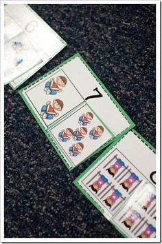 Free printable game for part-part-whole combinations from The First Grade Parade blog