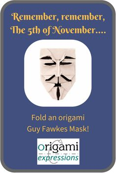A review of Brian Chan's origami Guy Fawkes mask. Includes thoughts on folding it, paper choice, and a link to two video tutorials via @origami_express