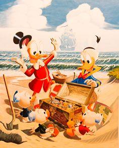 Treasure Island Carl Barks/Gil