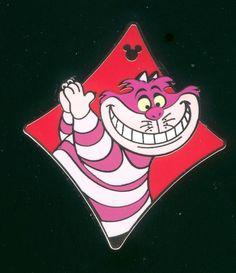 Disney Pin 2013 Hidden Mickey Alice In Wonderland Comics Cheshire Cat Pin