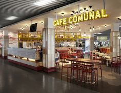 Creneau International - Cafe Comunal, HMSHost, Amsterdam Airport, The Netherlands