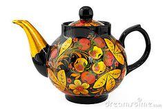 Russian Teapot by Ninetteluz
