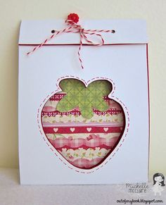 For a Berry Special Occasion card :: by Paper Made Bakery