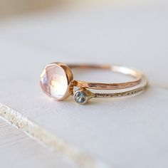 beautiful  gold stackable rings