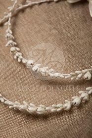 Μένη Ρογκότη - Κλασικά στέφανα γάμου με λεμοναθούς Bracelets, Silver, Jewelry, Fashion, Moda, Jewlery, Jewerly, Fashion Styles, Schmuck