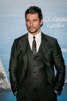. beauti man, eye gandi, david gandy light blue, crossfire series, gandi candi, david gandi, men suits, black, david candi
