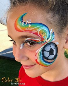 Face Painting For Boys, Cosmetology, Painting Inspiration, Carnival, Body, Girls, Projects, Face Paintings, Creative Makeup